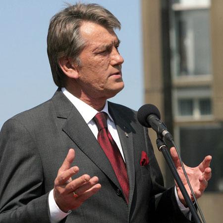 """Ющенко називав Донецьк """"своєрідним східним форпостом об`єднаної Європи"""", але """"аборигенів"""", схоже, не переконав..."""